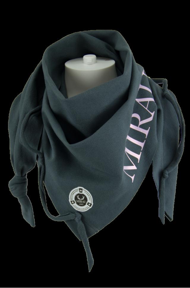 Dievčenská šatka ružová potlač - Mirau