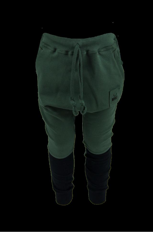 BABY CHLAPČENSKÉ PUDLÁČE – Army Green / Čierne