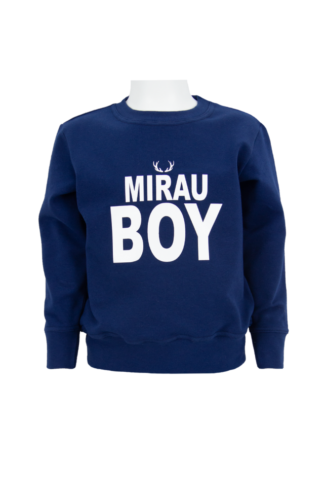 Baby mikina bez kapucne - MIRAU BOY