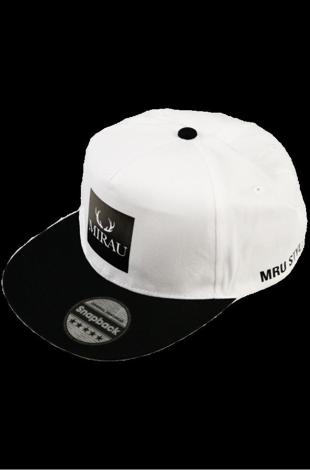 Šiltovka Snapback- bielo-čierna