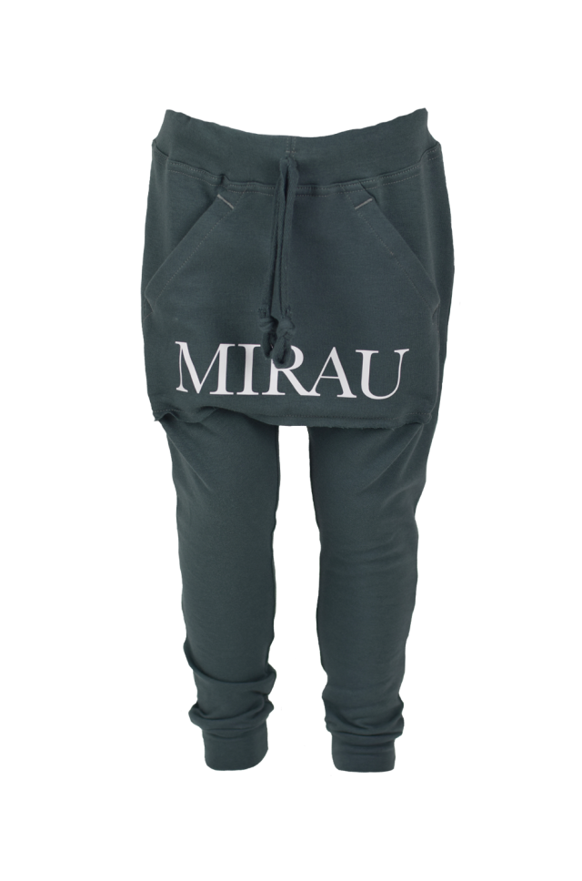 Baby nohavice s klokankou - Mirau